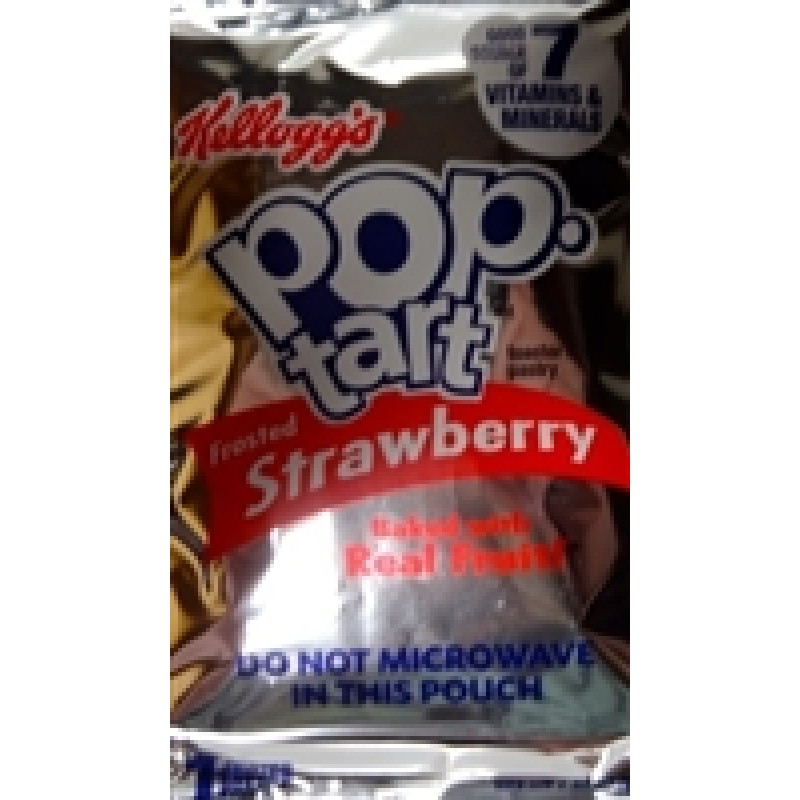 Pop Tarts Frosted Strawberry (1 Toaster Pastry) - 1.83oz | Snackoree