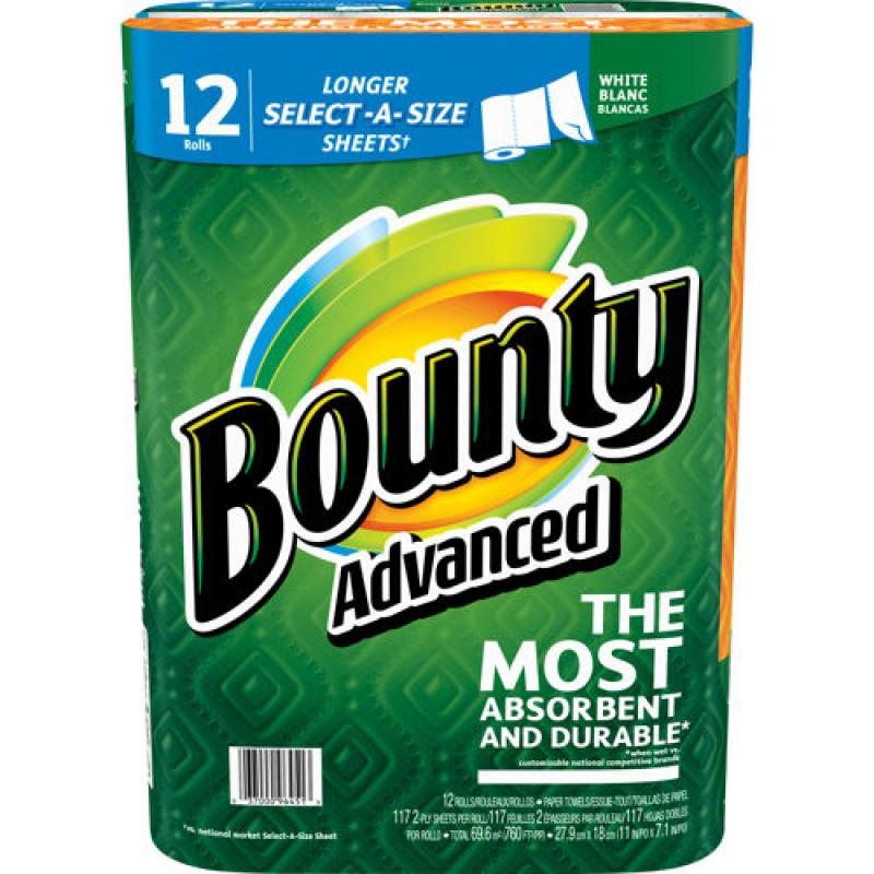 Paper Towels Jumbo Rolls: Bounty Paper Towels - 12 Jumbo Rolls