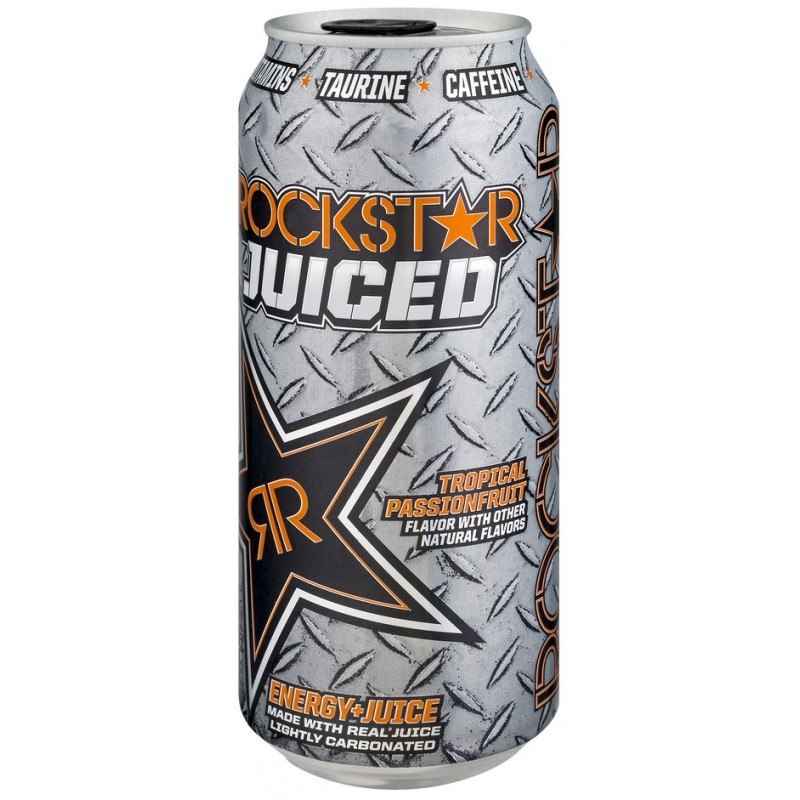 Rockstar Juiced Tropical Passionfruit Snackoreecom