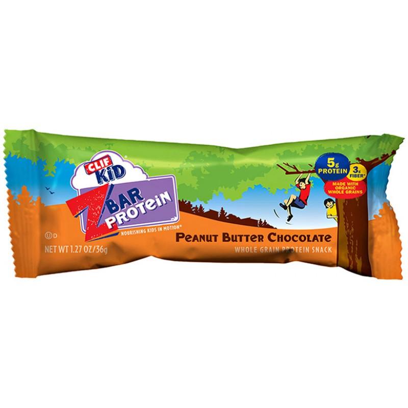 Clif Kid Z Bar Protein Peanut Butter Chocolate - 1 27oz