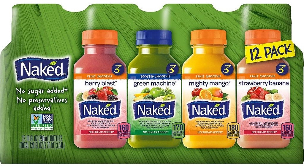 Naked Juice Variety Pack, 10 oz, 12 Count & Reviews - Food