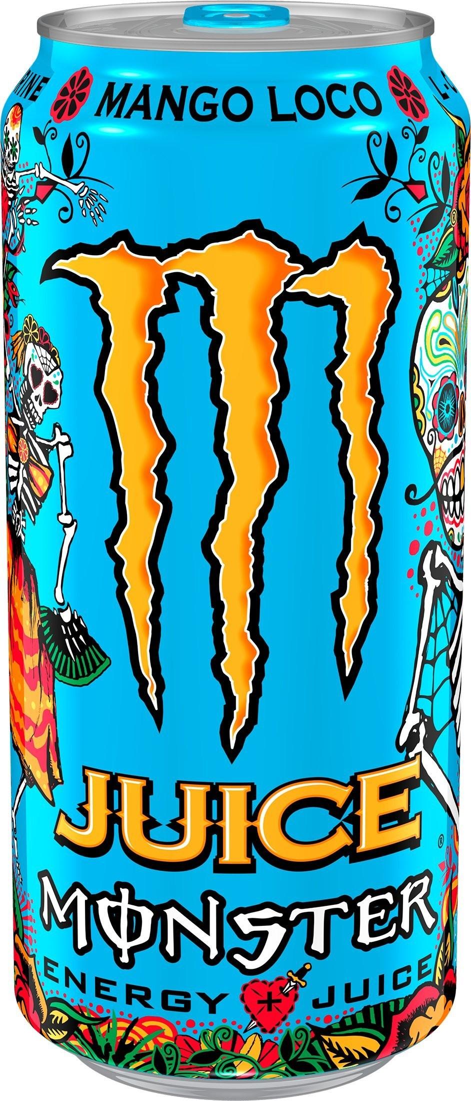 Monster Energy Juiced Mango Loco   Snackoree.com