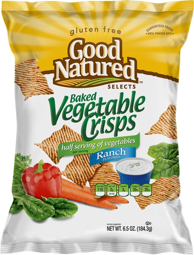 Good Natured Vegetable Crisps