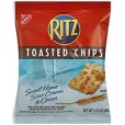 Ritz Toasted Chips Sweet Home Sour Cream & Onion - 1.75oz