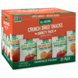 Sensible Foods Crunch Dried Fruit Variety Pack - 20 Count (0.32oz)