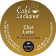 Cafe Escapes Chai Latte K-Cups - 24ct