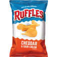 Ruffles Cheddar & Sour Cream - 1.5oz