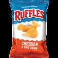 Ruffles Cheddar & Sour Cream - 1.5oz