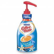 Coffee-Mate French Vanilla Creamer - 1.5 L Pump Bottle