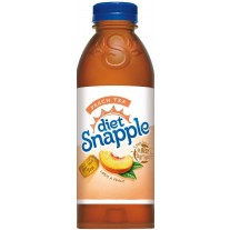 Diet Snapple Peach Tea - 20oz