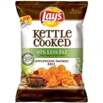 Lays Kettle Cooked Applewood Smoked BBQ - 1.375oz