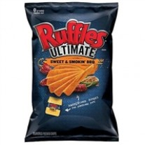 Ruffles Ultimate Sweet & Smokin' BBQ - 1.5oz