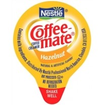 Coffee-mate Hazelnut Creamers - 180 Count (0.38 fl oz)