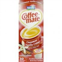 Coffee-mate Cinnamon Vanilla Creamers - 50 Count (0.38 fl oz)