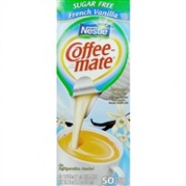 Coffee-mate Sugar Free French Vanilla - 50 Creamers