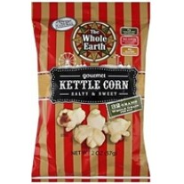 The Whole Earth Kettle Corn - 1oz