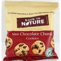 Back to Nature Mini Chocolate Chunk Cookies- 1.oz