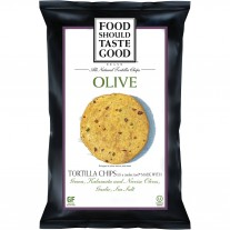 Food Should Taste Good Olive Tortilla Chips - 1.5oz