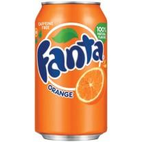 Fanta Orange - 12oz
