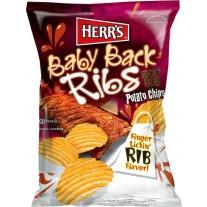 Herr's Baby Back Ribs Potato Chips - 1.5oz
