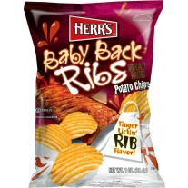 Herr's Baby Back Ribs Potato Chips - 1oz