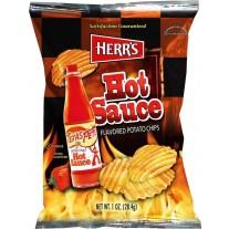 Herr's Hot Sauce Flavored Potato Chips - 1.5oz