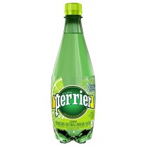 Perrier Sparkling Natural Mineral Water Lime - 16.9oz