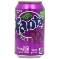 Fanta Grape - 12oz
