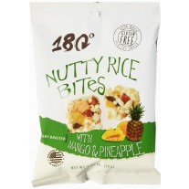 180 Snacks Nutty Rice Bites with Mango & Pineapple - 48 Count (.62oz)