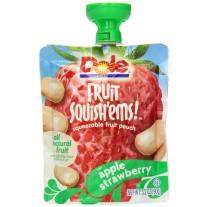 Dole Fruit Squish'ems Apple Strawberry - 3.2oz