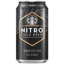 Starbucks Nitro Cold Brew Black - 12oz