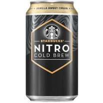 Starbucks Nitro Cold Brew Vanilla Sweet Cream - 12oz