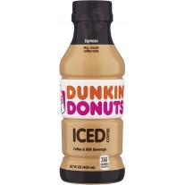 Dunkin' Donuts Iced Coffee Espresso - 13.7oz