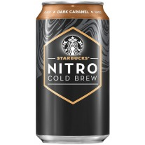 Starbucks Nitro Cold Brew Dark Caramel - 12oz