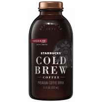 Starbucks Cold Brew Vanilla & Fig - 11oz