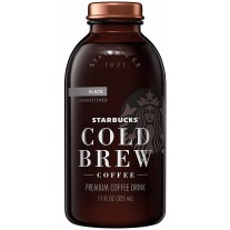 Starbucks Cold Brew Black Unsweetened - 11oz
