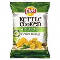 Lay's Kettle Cooked Jalapeno Cheddar - 1.375oz