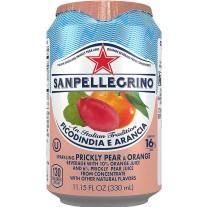 Sanpellegrino Prickley Pear & Orange - 11.15oz