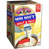 Mini Moo's Half and Half Creamers - 192 Count (0.28oz)