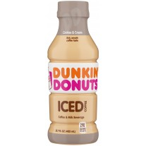 Dunkin' Donuts Iced Coffee Cookies & Cream - 13.7oz