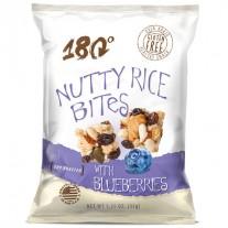 180 Snacks 180 Snacks Blueberry Rice Pops - 48 Count (1.25oz)