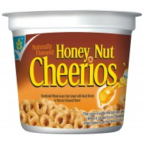 Honey Nut Cheerios Cereal Cup - 1.42oz