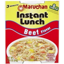 Maruchan Instant Lunch Beef Flavor - 2.25oz