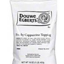 Douwe Egberts Frothy Cappuccino Topping - 1lb