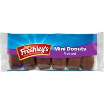 Mrs. Freshley's Mini Donuts Frosted - 3oz