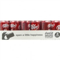 Dr. Pepper Mini Cans - 7.5oz/24ct