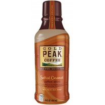 Gold Peak Salted Caramel Coffee - 14oz