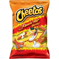 Cheetos Flamin' Hot Crunchy - 2oz