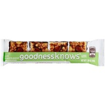 goodnessknows Apple Almond & Peanut Dark Chocolate - 1.2oz