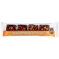 goodnessknows Peach & Cherry Almond Dark Chocolate - 1.2oz